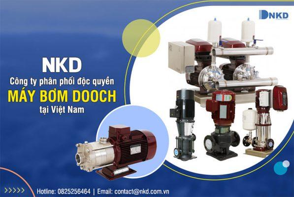 Dooch - Thương hiệu máy bơm số một tại Hàn Quốc