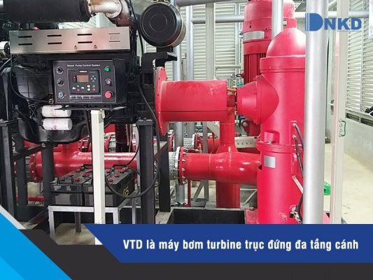 Máy bơm trục đứng VTD